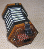 Wheatstone English concertina c1853